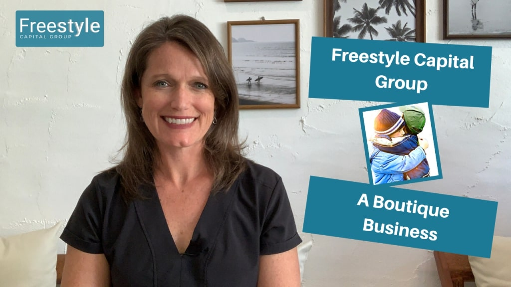 The vision for Freestyle Capital Group is to Stay Boutique